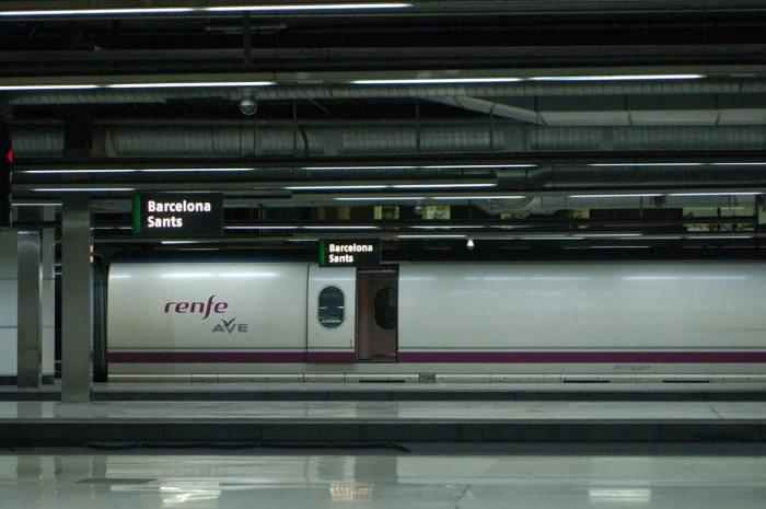 Станция метро Барселона Сантс