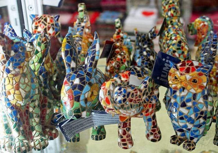 Сувениры из Барселоны
