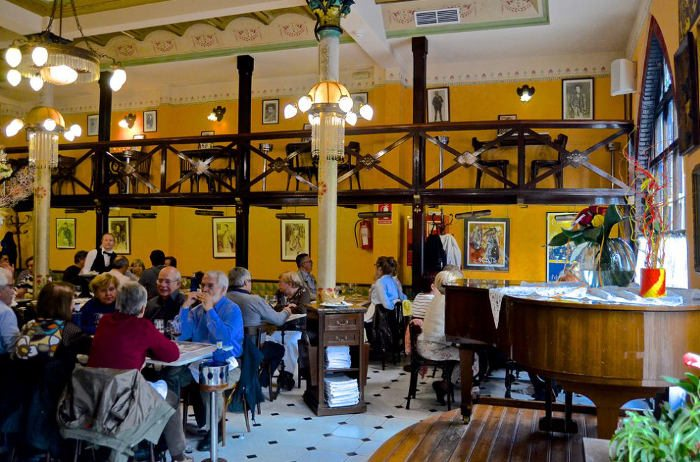 Особенности ресторана Els quatre gats