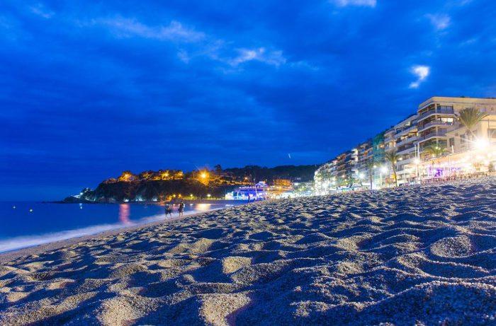 Льорет-де-Мар – небольшой северный город побережья