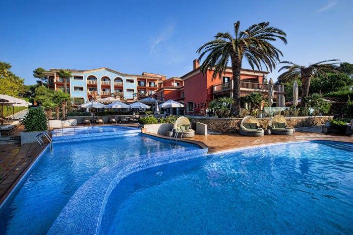 Отели Коста Брава: Hotel Cala del Pi (Platja d'Aro)