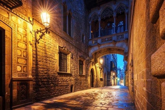 Мистические места Барселоны