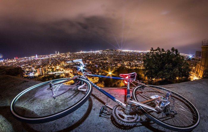 Поездка по Барселоне на велосипеде