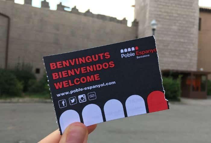 Расценки на билеты в Испанскую деревню