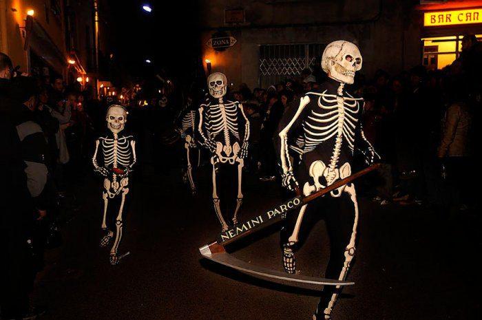 «Танец Смерти» в Вержесе