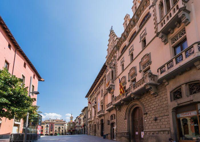 Вик в Испании: средневековый город
