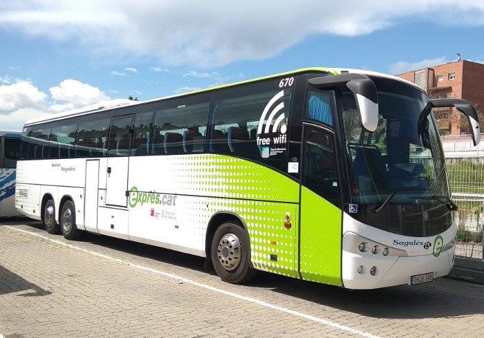 Автобус Sagales в Вик