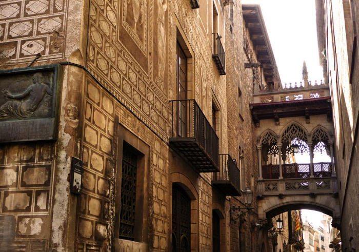 Барселона за один день: Готический квартал
