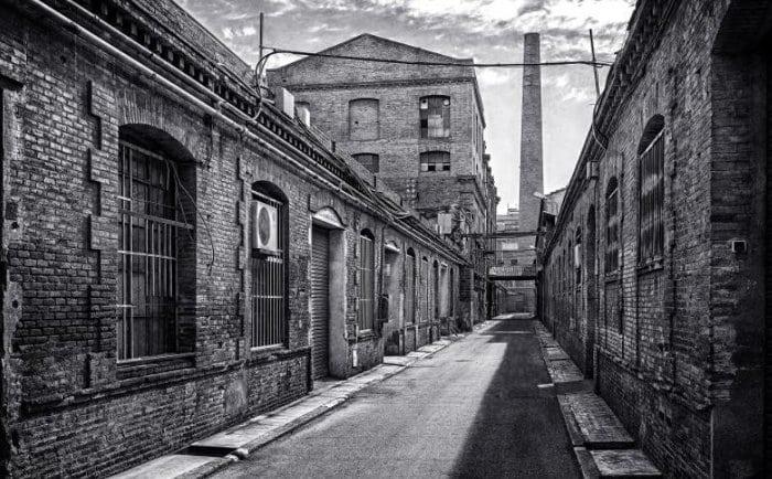 Фабрика Can Batlló – заброшенный объект промышленности
