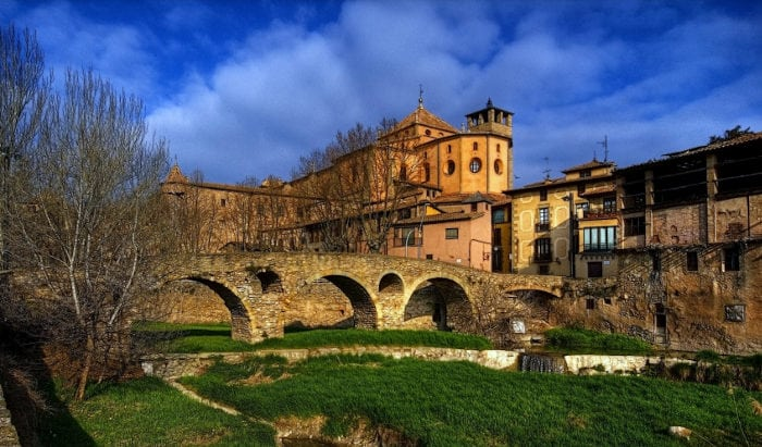 Средневековый город Вик