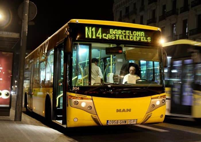 Ночные автобусы
