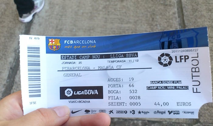 Барселона для фанатов: покупка билетов на стадион