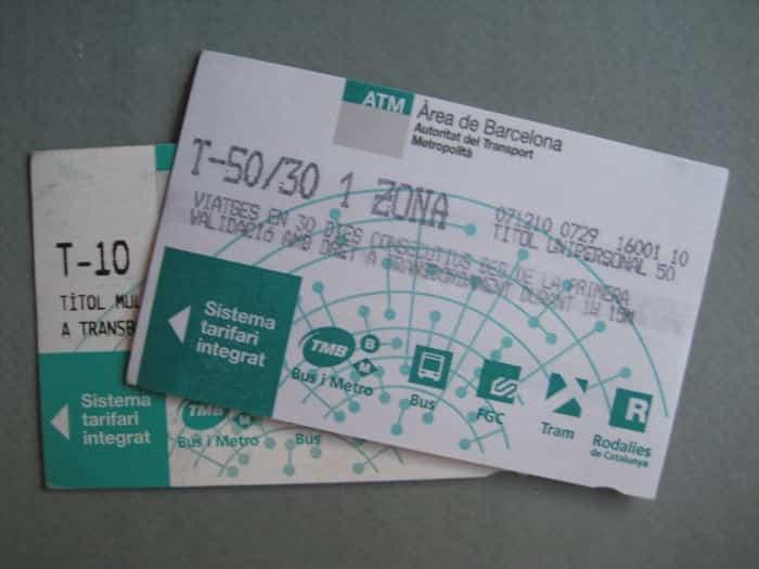 Проездной билет Т-10