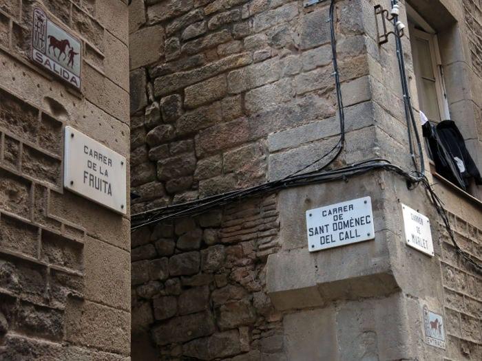 Улица Sant Domènec del Call