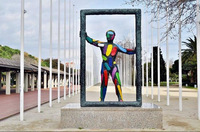 Площадь Олимпийских Волонтеров
