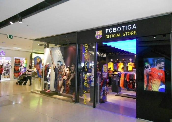FCBotiga Centre Comercial Maremàgnum
