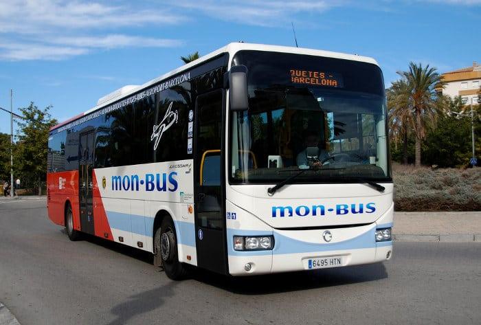 Путешествие в Ситжес на автобусе