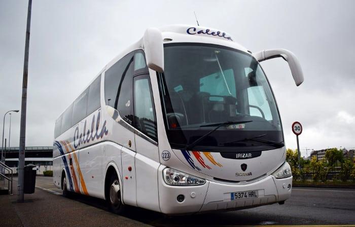 Как добраться из Калельи в Барселону на автобусе из аэропорта