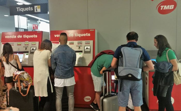 Покупка билетов на метро