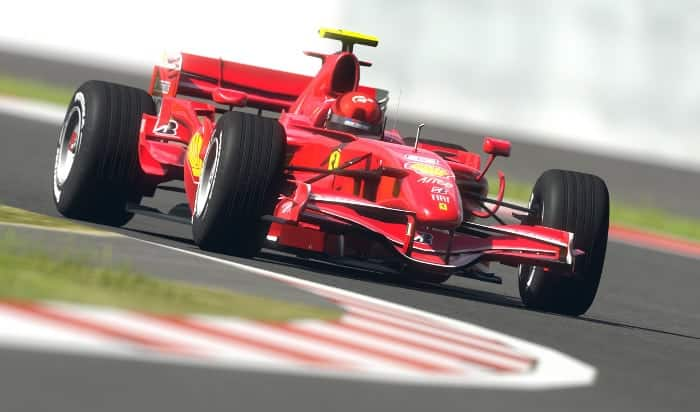 Формула 1 в Испании на горе Монтжуик
