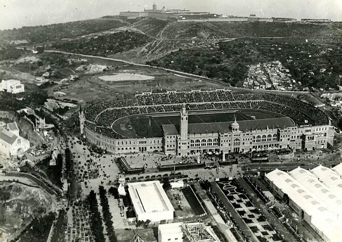 Монтжуик, 1929 г.