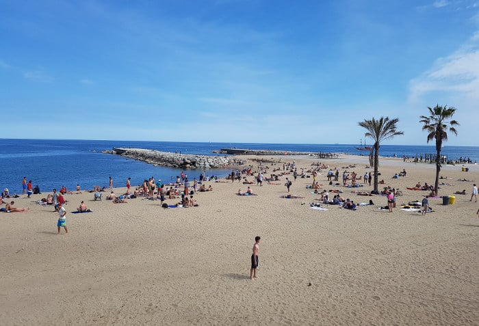 Barсeloneta: плюсы и минусы пляжей