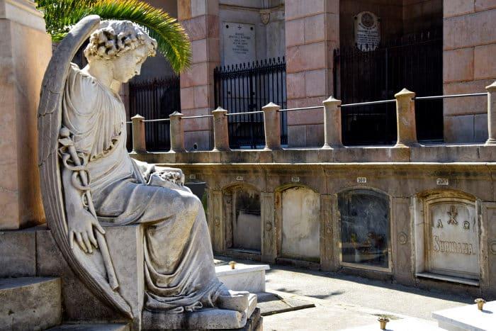 Бесплатная Барселона: кладбище Побленоу