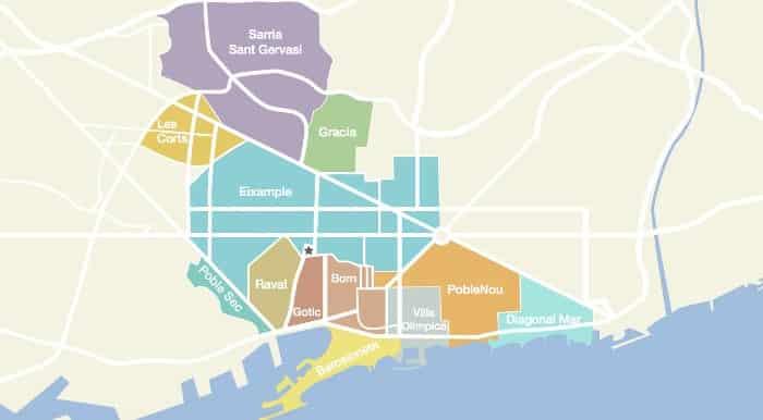 География Барселоны: устройство города