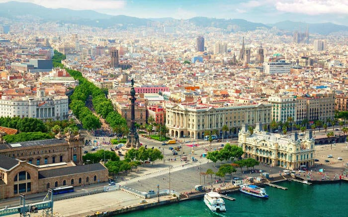 География Барселоны