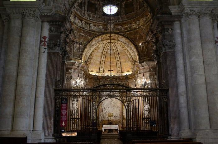 Внутренние прикрасы Кафедрального собора Таррагоны