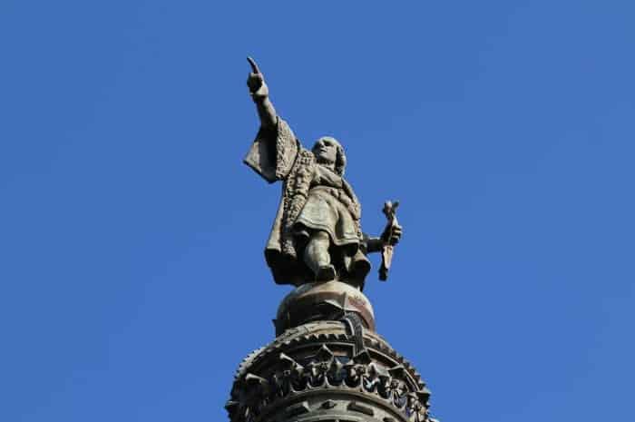 Port Vell: статуя Колумба
