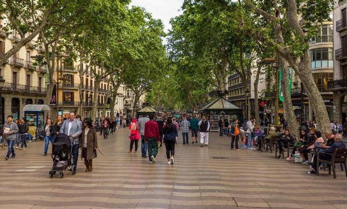 Барселонский бульвар
