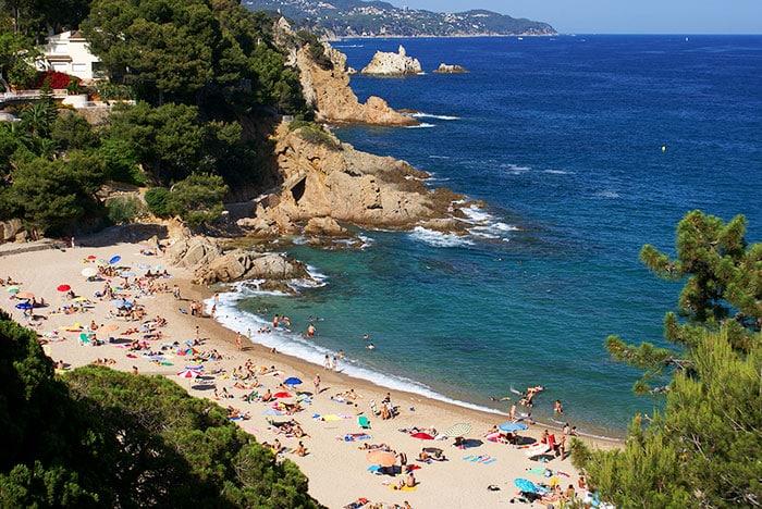 Пляж San Francesc: Blanes