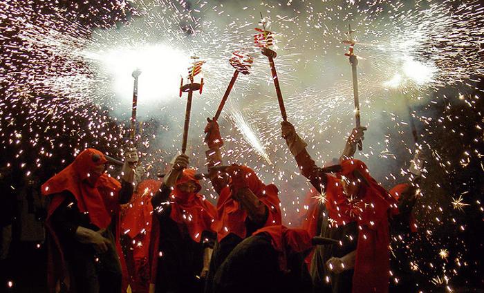 Ла Мерсе – грандиозный фестиваль Барселоны