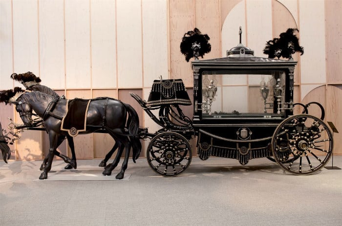 Кладбище Монтжуик: музей катафалков