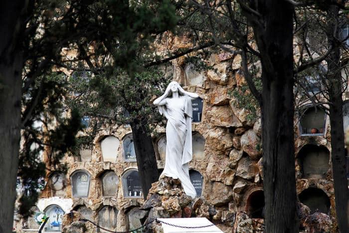 История кладбища Монтжуик