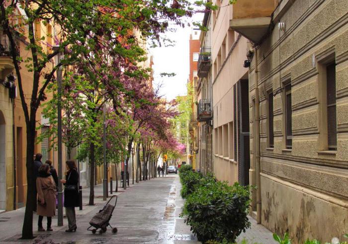 Противоречивая весенняя погода в Каталонии
