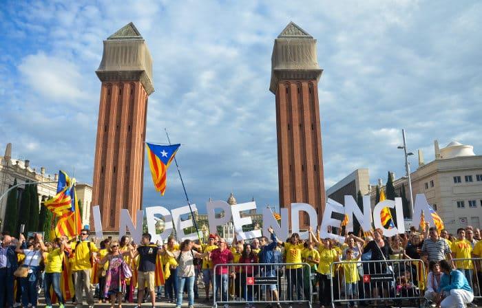 Желание Каталонии отделиться от Испании