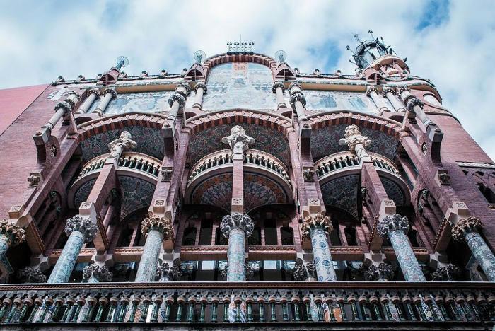 Район Борн: Дворец Каталонской Музыки