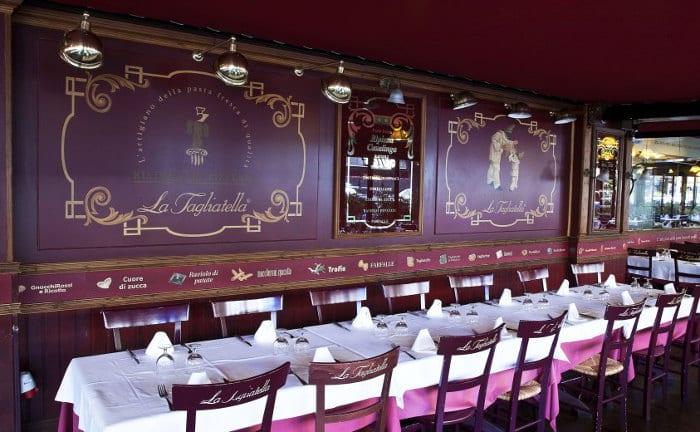 La Tagliatella – идеальный ресторан для дружеских посиделок