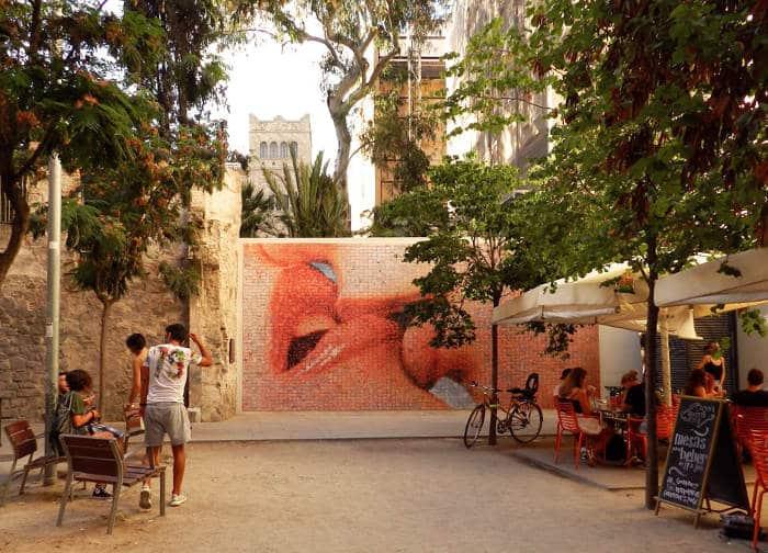 Инсталляция «Поцелуй свободы»