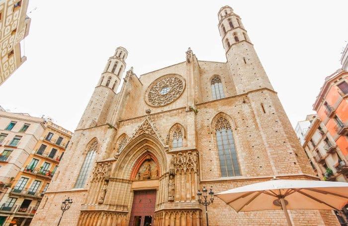 Церковь Санта Мария дель Мар