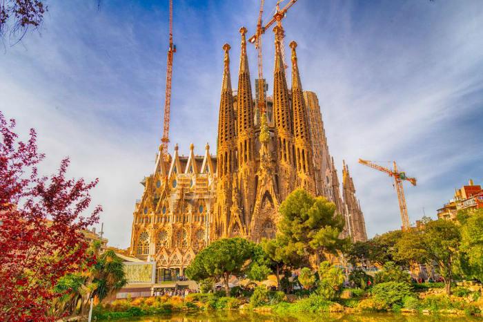 Путеводитель по Барселоне самостоятельно: Sagrada Família