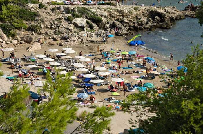 Наиболее популярные пляжи Salou