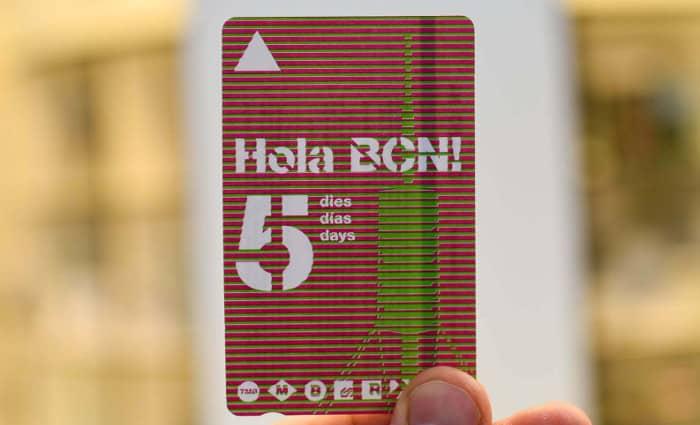 Безлимитный проездной Hola BCN