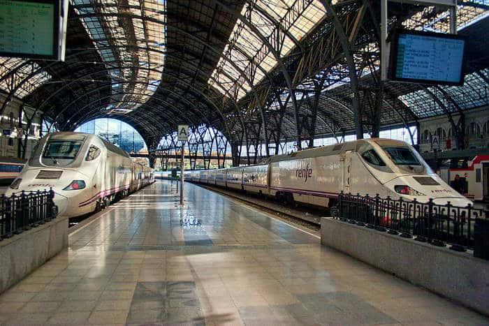 Пригородные электрички Барселоны