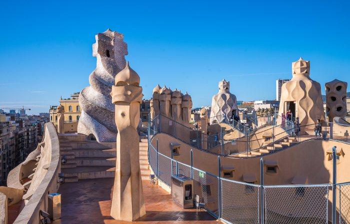 Барселона за два дня: Casa Mila