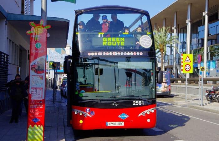 Bus Turistic: зеленый маршрут