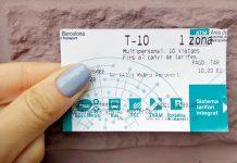 Тарифные зоны Барселоны и проездной Т-10
