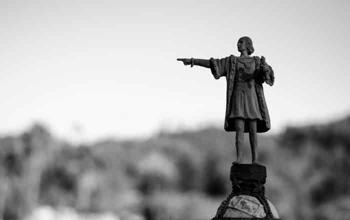 Каталония в миниатюре: Памятник Колумбу